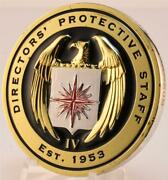 Central Intelligence Agency Cia Directorsand039 Protective Staff Gold Challenge Coin