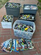 160 Lb Mixed Lego Legos Star Wars Minifigures Bionicles All 4 Childrenand039s Charity