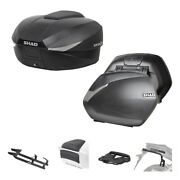 Set Shad Bauletto Sh58x + Suitcases Sh36 For Kymco 550 Ak 2017-2021