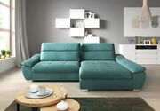 Polstercouch Corner Convertible Sofa Bed Function Bed Box Fico L Shape Luxury