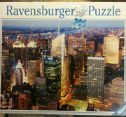 Midtown Manhattan Ravensburger Jigsaw 1500 Piece Puzzle Made In Germany Preowned