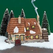 Dept 56 Dickens Village Christmas Carol Cottage With Box 58339