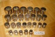 Snap-on Tools 26 Piece 3/4 Dr Sae. Short Sockets 3/4 To 2-3/8 1 Of All They Sell