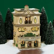 Dept 56 Dickens Village Piccadilly Gallery With Box 58498