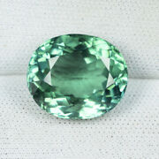 7.95 Ct Lustrous Rare Best Blue Green - Natural Tourmaline - See Vdo 6321