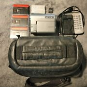 Canon Optura S1 Minidv Camcorder 2.2mp 10x Optical Zoom W/ Accessories - Works