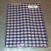 Longaberger Blue Ribbon Red Fabric 5-yards Yds Made In Usa New In Bag