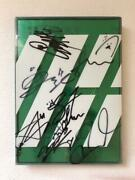 Ikon All Autographed Debut Full Album Photograph With Postcard