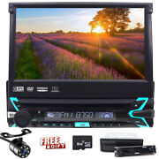 Anti-theft 1 Din 7 Gps Navigation Car Stereo Audio Dvd Player In Dash Radio Lcd
