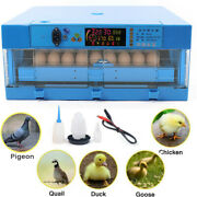 64 Eggs Incubator Fully Automatic Hatcher For Hatching Chicken Birds Ducks Geese
