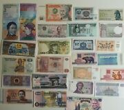 1000 Assorted Different World Banknotes Collection