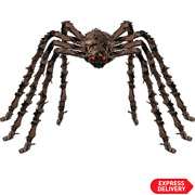 79 Halloween Decorations Realistic Large Hairy Spider Scary Furry Spider Props