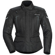 Tourmaster Womenand039s Transition 5 Armored Motorcycle Jacket - Black