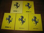 Ferrari F1 Official Brochure Collection 1978 - 2019 - Total Of 41 Brochures