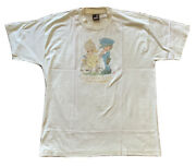 Vtg 90s Precious Moments T Shirt Size Xl 1991 Single Stitch It Is Better To Give