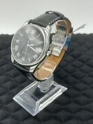 Longines Master Collection Stainless Steel And Alligator Leather Strap Watch