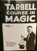 Tarbell Course In Magic Volume 1 New Factory Sealed Magic Trick Book Hard Cover