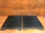 Pontiac Fiero 1984 1985 1986 1987 1988 Pair Of Rear Engine Grille Covers