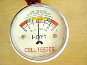 Vintage Hoyt Cell Tester Mechanicand039s Service Tool Model T Ford A 1910and039s 1950and039s