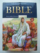 Illustrated Bible-the Holy Bible King James Version-king James Bible-1735 Pages-