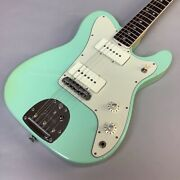 Fender Limited Edition Jazzmaster-telecaster Rosewood Surf Green Guitar Used