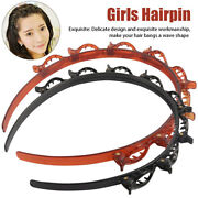 Women Home Twist Clip Headband Set Hairpin With Toothed Party Braid Tools Daily/