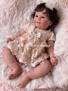Reborn Baby Doll Maddie By Bonnie Brown Made By Chris Ly. It's A Girl