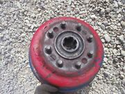 Ford 8n Tractor Original Left Hub Wheel Drum Assembly W/ Brake Parts
