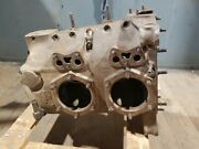 Continental A65 6651 Aircraft Engine Crankcase 10846 Aviation For Parts Only