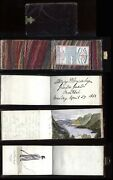 1863 Canada Sir Henry Ponsonbyand039s Pocket Notebook Military Notes Sketches Etc