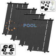 Heliocol Solar Pool Heating System Diy Kit - 152 Square Feet - 4-4and039x9.5and039
