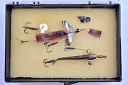 2 Hardy Brothers Bros. Antique Early Vintage Fishing Lures Lot - [y15-17]