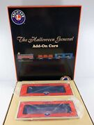 Lionel 6-52405 The Halloween General Two Car Add-on Set O O27 Gauge New