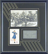 Glenn Miller Band - Post Card Signed With Co-signers