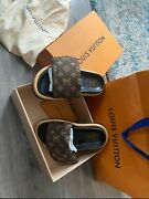 Louis Vuitton By The Pool Pillow Comfort Mules Brand New Discontinuedandnbsp