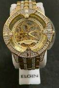 New Elgin Gold Automatic Dial Men S Latest Watch Fg9919