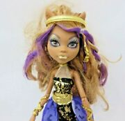 Monster High Clawdeen Wolf 13 Wishes Doll 2013 First Wave