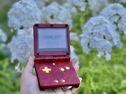 Nintendo Gameboy Advance Sp Ags-001 Handheld Custom Console.comes With Charger