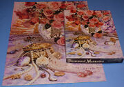 Complete Assembled Springbok Treasured Memories Jigsaw Puzzle Antique Jewelry