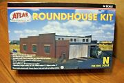 Atlas 2843 N Scale Roundhouse Building Kit