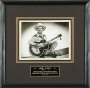 Gene Autry - Autographed Inscribed Photograph