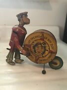 1939 Marx Tin Windup Toy Andldquolet The Drummer Boy Play As You Swing And Swayandrdquo