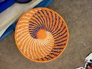 Wall Hanging/woven Basket/home Decor, Round/ Tray/oval Wall Hanging