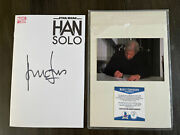 Star Wars Han Solo 1 Signed Harrison Ford Autographed Comic Bas Authentic Coa