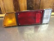 Fiat X1/9 1973-88 Andbull Original Tail Light Assembly Left. Amber Lens. Used. F3505