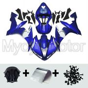 Motorcycle Blue White Abs Fairings For Yamaha Yzf R1 2004 2005 2006 04 05 06 Kit
