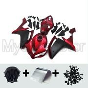 Motorcycle Abs Fairings Fit For Yamaha Yzf R1 07 08 2007 2008 Red Black Bodywork