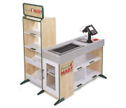 Melissa And Doug Freestanding Wooden Fresh Mart Grocery Store