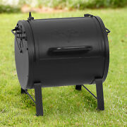 Char-griller Table Top Charcoal Grill And Side Fire Box Adjustable Air Dampers