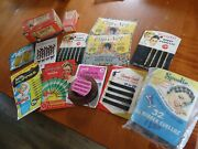 Vintage 1940s-50s Nos New Old Stock Ladies Hair Bobby Pins Clips Nets Rollers